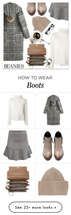"""Hat Head: Beanies"" by paculi on Polyvore featuring H&M, Proenza Schouler, STELLA McCARTNEY, Marni, CB2 and beanies"