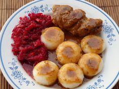 Monia miesza i gotuje: Dania z wieprzowiną Sausage, Muffin, Meat, Breakfast, Ethnic Recipes, Morning Coffee, Sausages, Muffins, Cupcakes