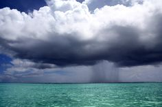 A tropical storm. Beauty Land, Wild Waters, Summer Rain, Most Beautiful Beaches, Severe Weather, Dylan O, Tropical Paradise, Natural Wonders, Mother Nature