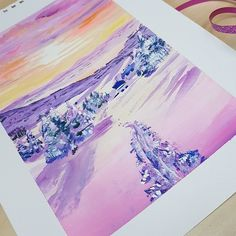 #winter #gouache #art Bullet Journal Junkies, Bullet Journal Inspiration, Bujo Weekly Spread, Gouache, Hand Lettering, Stationery, Scene, Winter, Art