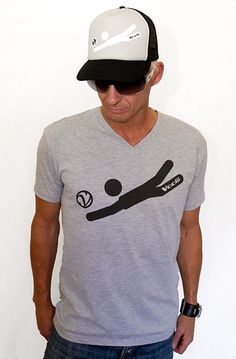 Rock the Voolii Digger Icon Tee and show you handle it on the court! (That's up!)    Men's Fine Jersey Fitted Tee   4.3 oz 100% Combed Ringspun Cotton, Super-soft, lightweight, slim-fit tee. Machine washable and preshrunk to minimize shrinkage. Printed care label.  Item code: MTSS0004V  Price: $20.00  http://voolii.com/VooliiShop/tabid/184/CategoryID/1/List/0/Level/a/ProductID/192/Default.aspx