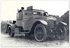 Minerva armored car, model 1914