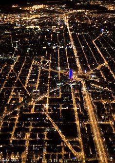 AÈREA: L'eixample de Barcelona. Foto trobada a Barcelona, de Cristina.