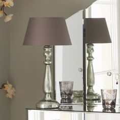 Exceptionally Beautiful Silver Table Lamps | Light Decorating Ideas