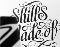 Oporto Show Chair by Royal Studio, via Behance Typography Sketch, Typography Served, Typography Letters, Hand Lettering, Logo Inspiration, Daily Inspiration, Calligraphy N, Type Treatments, Me Too Lyrics