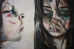 Child Abuse Painting , Photographs, Sketches