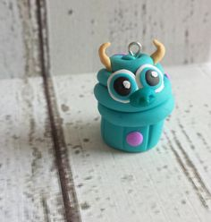 Sulley Monsters Inc/University Cupcake Handmade by GumdropSupplies, $3.50