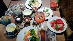 Puro - Sonntags-Brunch à la Carte im Club-Style Bloody Mary, The 10, Good Food, Breakfast, Ethnic Recipes, Restaurants, Paradise, Twitter, Pictures