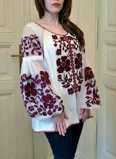 Items similar to Beautiful boho style tulle folk style flower blouse Ukrainian Vyshyvanka Tulle fabric embroidered blouse on Etsy Folk Fashion, Style Fashion, Ukrainian Dress, Ethno Style, Embroidery Fashion, Tulle Fabric, Embroidered Blouse, Blouse Styles, Pakistani Dresses