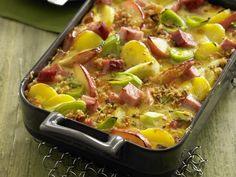 Kartoffel-Apfel-Auflauf mit Kasseler - smarter - Kalorien: 622 Kcal - Zeit: 1 Std. 15 Min. | eatsmarter.de