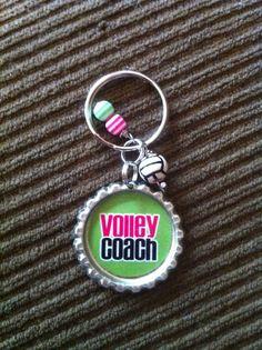 Volleyball Keychains