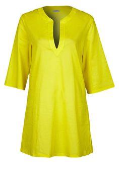 Studio La Perla - Caftano-Camicia - giallo fluo