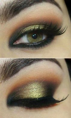 .hazel eye makeup