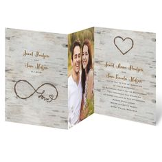 Wedding Themes Easily personalized and shipped in a snap! Shop Invitations by Dawn for rustic wedding invitations that coordinate with your outdoor wedding theme perfectly! Making Wedding Invitations, Wedding Invitations With Pictures, Personalised Wedding Invitations, Photo Invitations, Rustic Invitations, Wedding Invitation Templates, Invitation Design, Personalized Wedding, Invites