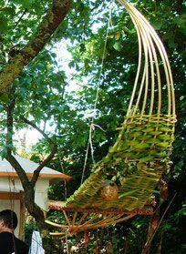 Gartendeko blog weidendeko selber machen pinterest environmental sculpture garden - Gartendeko aus weidengeflecht ...