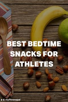Sleep is a powerful tool for athletes. One way to get more from your sleep is to focus on nutrition before bed. What you eat before getting to sleep cannot only affect the quality of your sleep but also improve your body's ability to recover for future athletic performance. Try these nutrient-rich foods to promote better sleep, enhance athletic performance, and reset your body and mind. #MyFitnessPal #foodsforbettersleep #weightloss