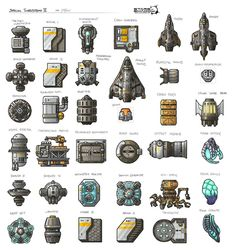 Stars in Shadow: Ashdar Ships (Revised) by AriochIV on DeviantArt Spaceship Art, Spaceship Design, Spaceship Concept, Sprites, Star Citizen, Pixel Art Background, Sci Fi Rpg, Alien Ship, Space Games