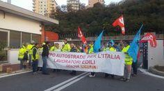 """Edili settore autostrade, sindacati: """"Situazione drammatica sul fronte occupazionale"""""""