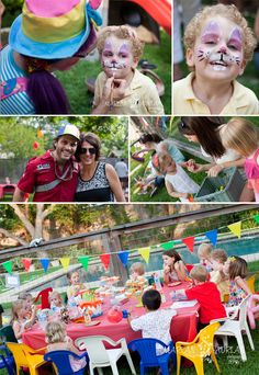 Carnival party fun SEATING for kiddos