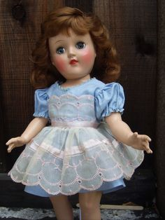 Ideal TONI DOLL. I had this doll! Some day I`ll tell you what happened to her!