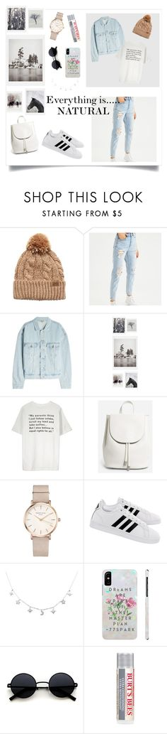 """Natural?🤔"" by fosterj-i ❤ liked on Polyvore featuring American Eagle Outfitters, Yeezy by Kanye West, DENY Designs, Everlane, ROSEFIELD, adidas and Burt's Bees"