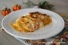 Lasagne con zucca