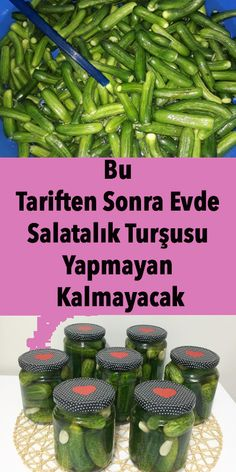 Bu Tariften Sonra Evde Salatalık Turşusu Yapmayan Kalmayacak – Sulu yemek – Las recetas más prácticas y fáciles Best Salad Recipes, Soup Recipes, Turkish Recipes, Indian Food Recipes, East Dessert Recipes, Protein Bread, Recipe Sites, Recipe Recipe, Food Platters