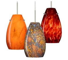 I Love These Kitchen Pendant Lighting Glass Shades A Great Way To Add Some Color