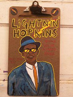 Lightnin' Hopkins - Dan Dalton Art