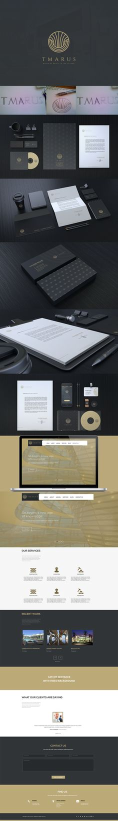 TMARUS Brand on Behance                                                                                                                                                                                 Plus