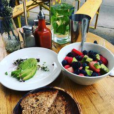 Breakfast at The Butcher Daughter - SoHo, New York