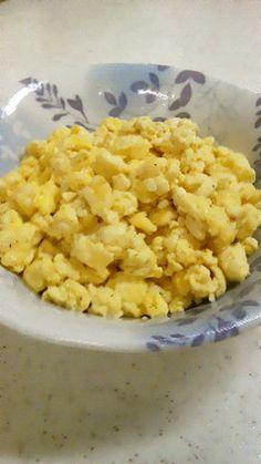 豆腐の炒り卵