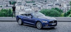 Re-Rendez-Vous - 360° Video: Ford Mustang GT rast im interaktiven Video durch Paris