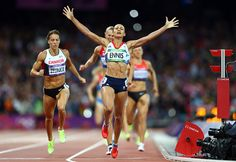 The golden girl delivers: Jessica Ennis crowned Olympic heptathlon champion after winning in front of jubilant Olympic Stadium crowd Jessica Ennis Hill, London Olympic Games, Sports Personality, Team Gb, Olympic Champion, Poses, Golden Girls, Female Athletes, Women Athletes