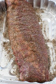 How to easily (gas) grill the best pork ribs. Includes a deliciously easy pork rub seasoning and a simple mop sauce. Ribs On Grill, Bbq Ribs, Bbq Pork, Rib Recipes, Grilling Recipes, Recipies, Pork Rub Seasoning, Pork Ribs Grilled, Mop Sauce
