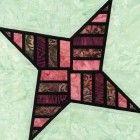 Stained Glass Obstacle Course Quilt Block Pattern