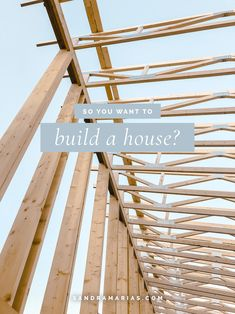 The ins and outs of starting a house building project. A step-by-step guide for the curious house-builder-to-be. House Building, Step Guide, Home Builders, Wood, Projects, Building Homes, Madeira, Log Projects, Woodwind Instrument