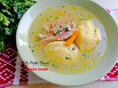 Supa de pui cu galustepufoase de gris, reteta simpla Grains, Ideas, Food, Breads, Meals, Essen, Thoughts, Seeds, Yemek