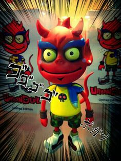 Urban Devil figure - ボ カ ー ン / Merchandise, designer and art toys / Creator, Characters and Illustrations by PEPPERJERRY