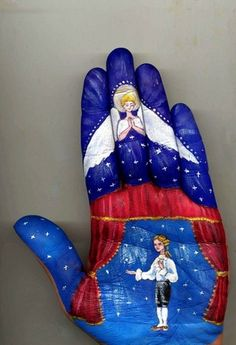 Hands Paintings by Svetlana Kolosova