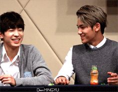 Meanie couple. ohmy that wonwoo laugh/smile.maynnn