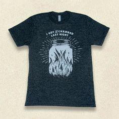 Ole Smoky Charred Tee #mens #shop #Gatlinburg #Tennessee #charred #Harley #Davdison #tshirt #gift #idea