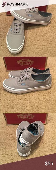 c82b9a56ea Pop Canvas Authentic Vans New in box. Wild dove true white Vans Shoes  Sneakers