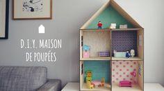 Maison de poupées - DIY à crayonner, à décorer et à meubler! - TPL Moms