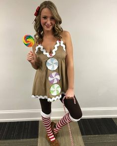 Stylish christmas costume ideas for your holiday party diy gingerbread man costume solutioingenieria