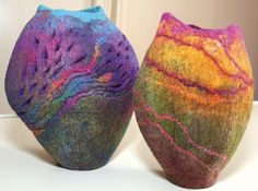 felt vessels - Sharon Costello