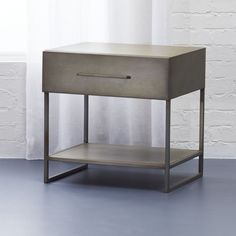 proof nightstand - CB2 - $199 - domino.com
