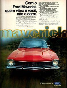 Anúncio Ford Maverick - 1974