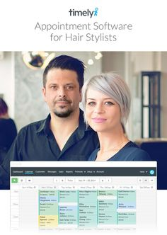 Save time and money by managing your client bookings, SMS reminders and more with Timely hair salon software. Start a 30 day free trial today.