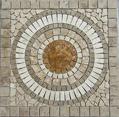 Tumbled Travertine Indoor or Outdoor, Floor or Wall Art Medallion Mosaic Stone Deals http://www.amazon.com/dp/B015AKMXFE/ref=cm_sw_r_pi_dp_3hj9vb1C8VDGB